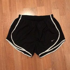 Nike tempo athletic shorts (small)